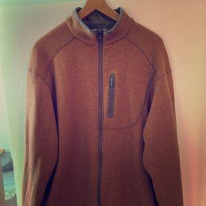 Columbia Titanium Mens sweater zip XL